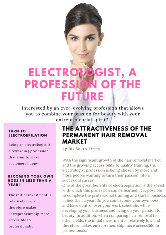 ELECTROLOGIST, A PROFESSION OF THE FUTURE